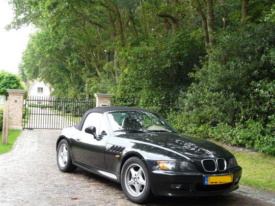 BMW Z3 voor droomkasteel