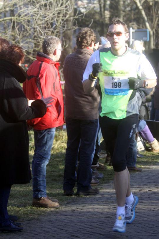 Egmond Halve marathon 2011