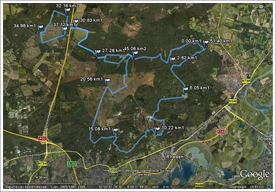 Veluwezoom Route