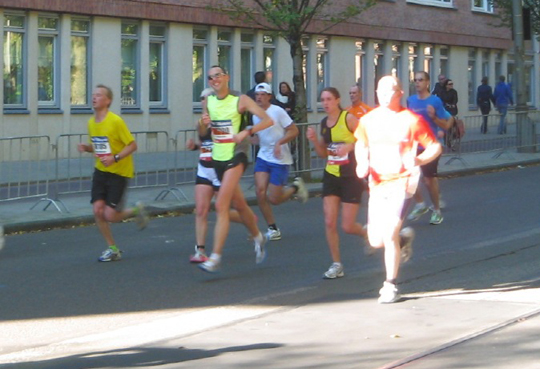In ��n streep naar de finish